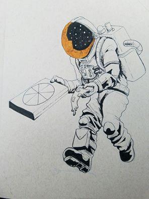 Pizzanaut by RedLionArtist