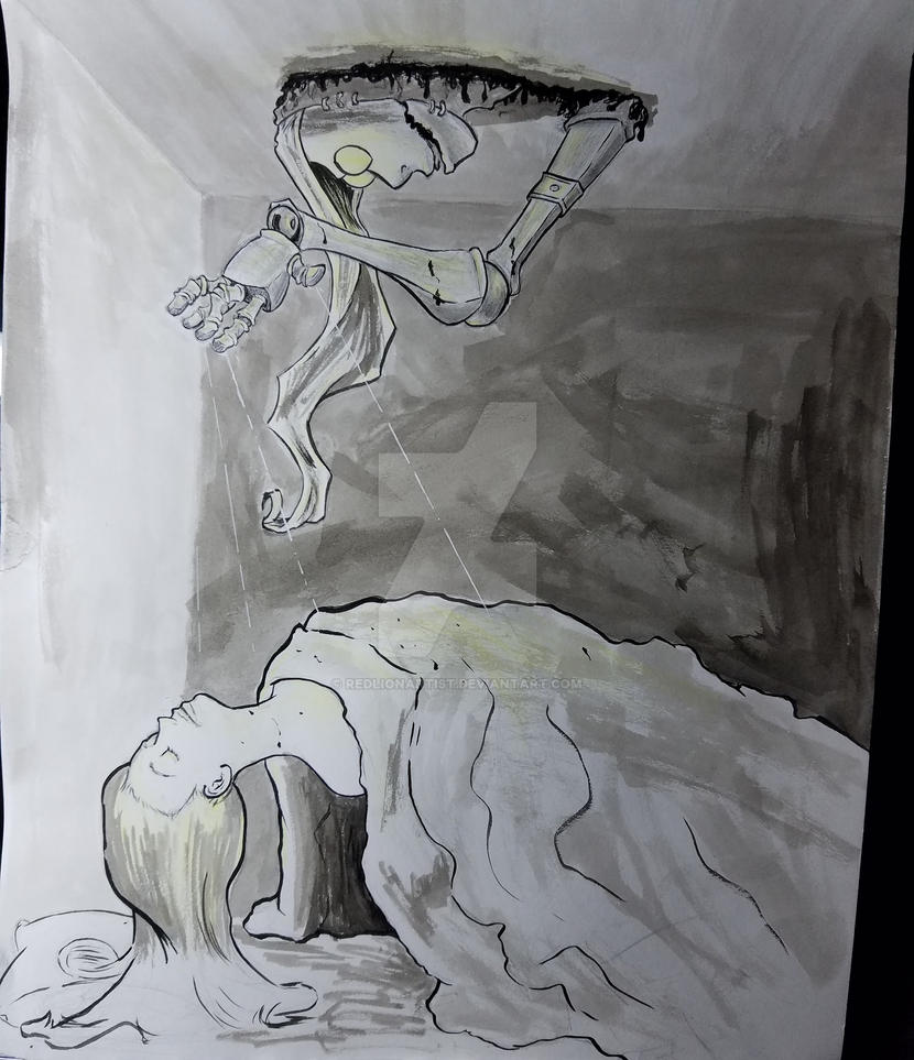 Night Terrors by RedLionArtist