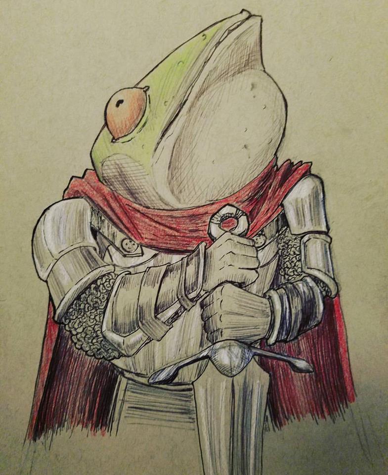 Frog Prince by RedLionArtist