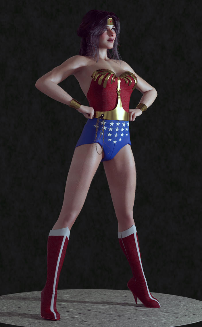 My New Wonder Woman by reedsabc