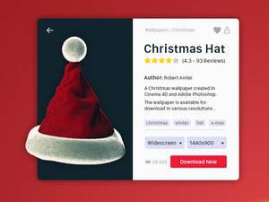 Christmas Hat - Presentation