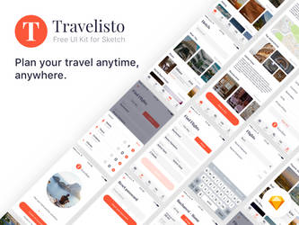 Travelisto-UI-Kit-For-Sketch-Preview by SpEEdyRoBy