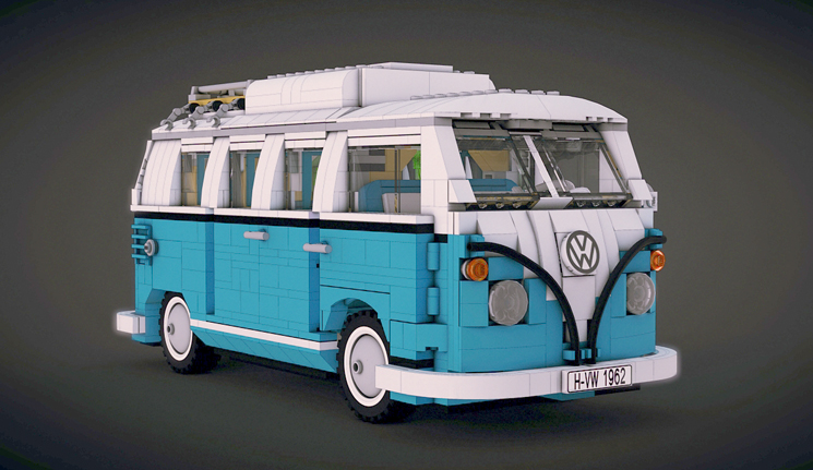 LEGO VW T1 Camper Van by meszimate on DeviantArt