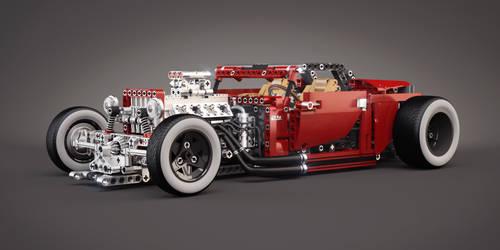 LEGO 8070 (B model) - Hot Rod - Tuning