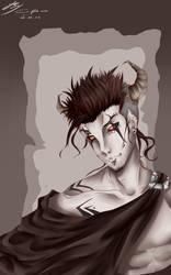 Demon Azazel (very old Drawing).