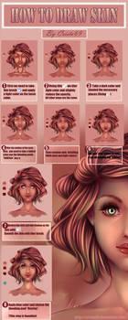 How to draw Skin (SAI) by CrisK-Art
