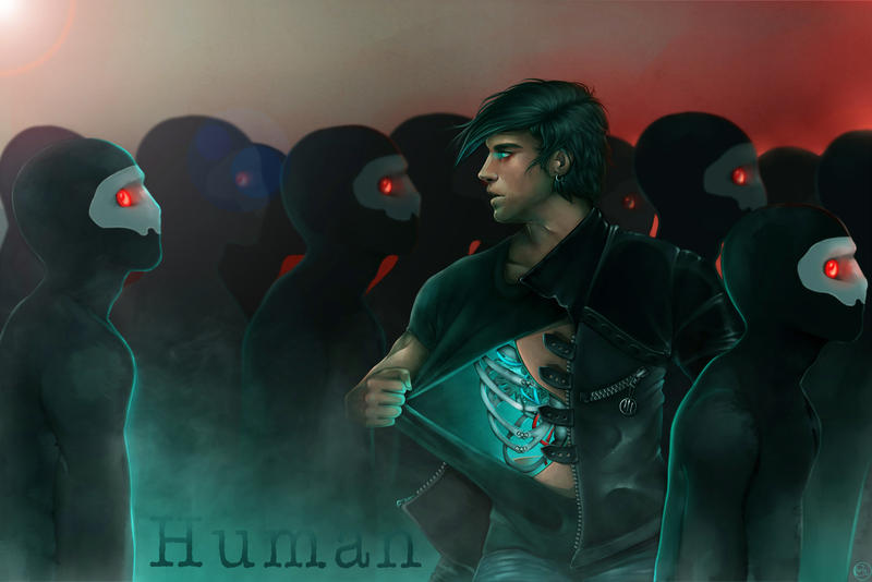 Human. Inspired by the TDG album.