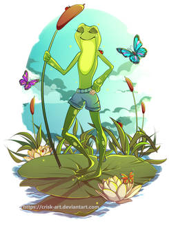 A good day for frog adventures! Disney inspired.