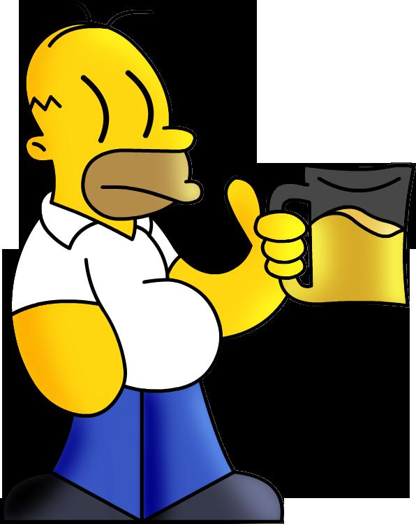 Homero//Los Simpson//BetoElLobo by BetoElLobo