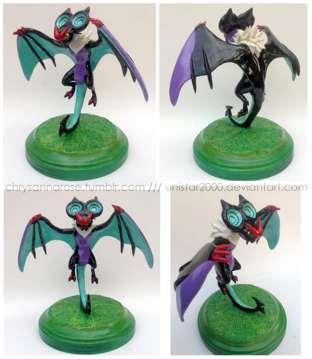 Noivern Sculpture by unistar2000