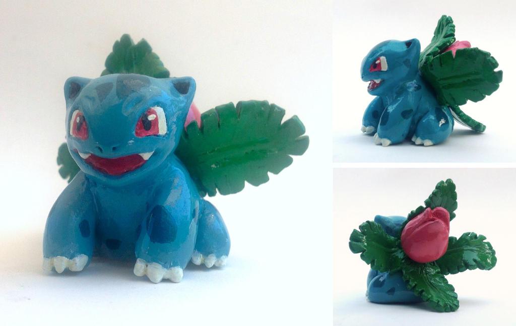 Ivysaur Sculpture by unistar2000