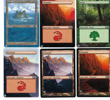 MTG Land Alters (1-6) by unistar2000