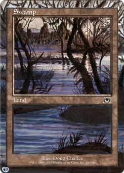 Framed Swamp MtG Alter
