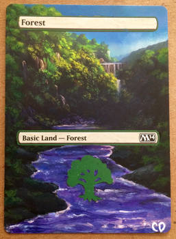 MtG Forest Extended Alter
