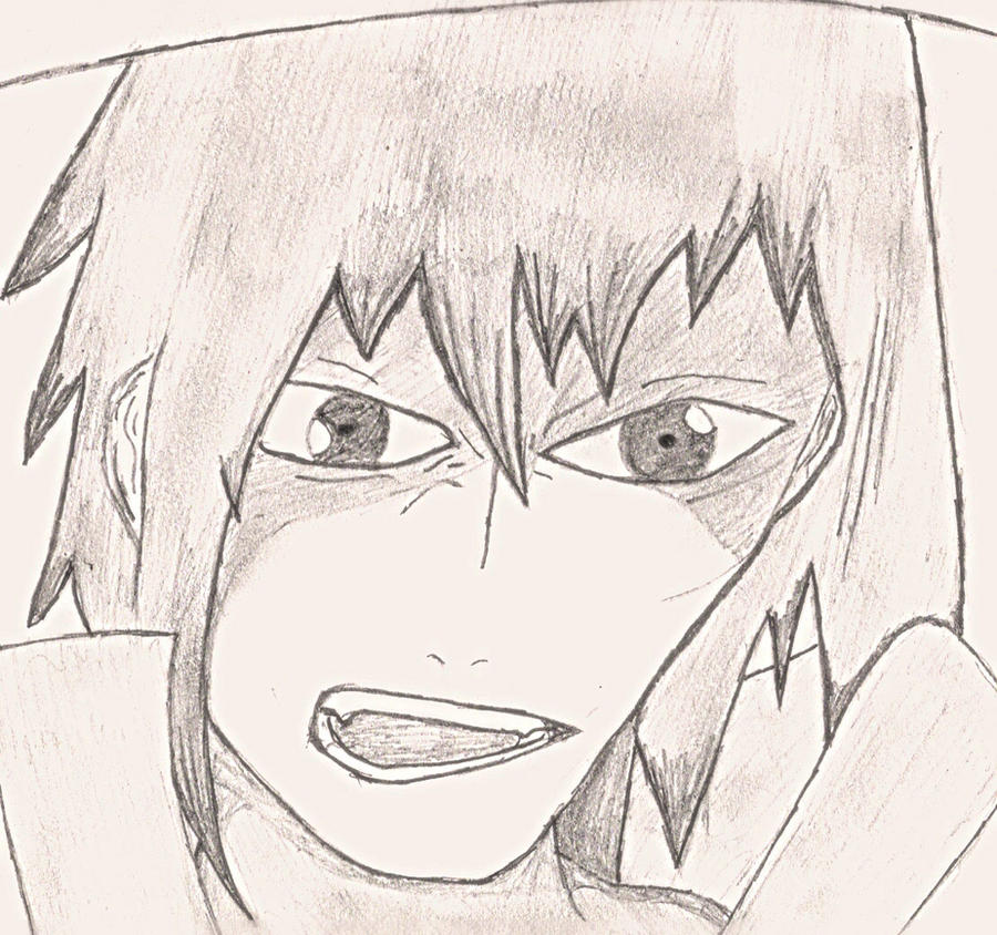 Sasuke crying blood