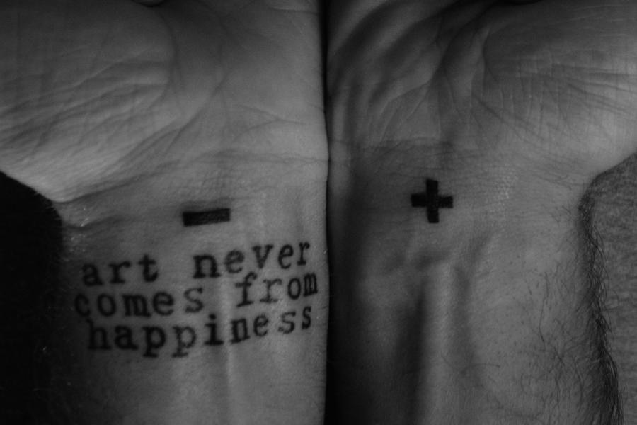 Serena logan tattoos for Bipolar disorder tattoo