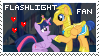FlashLight Fan Stamp by Twiinyan