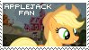 Applejack Fan Stamp by Shiiazu