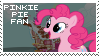 Pinkie Pie Fan Stamp by Shiiazu