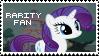 Rarity Fan Stamp by Shiiazu
