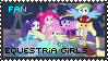 Equestria Girls Fan - Stamp by OkamiiAoi