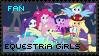 Equestria Girls Fan - Stamp by Shiiazu