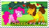 CheesePie Fan Stamp by OkamiiAoi