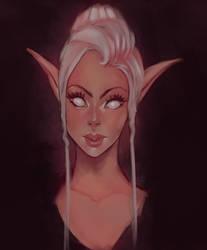Elegant Elf - Daily paint