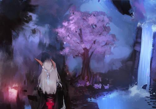 Fantasy Elf Landscape