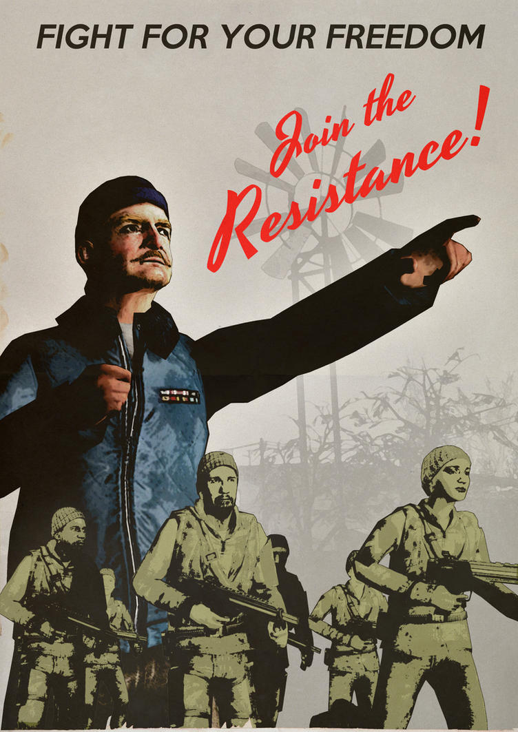 Join the Resistance! [Half-Life 2] by LDMythos