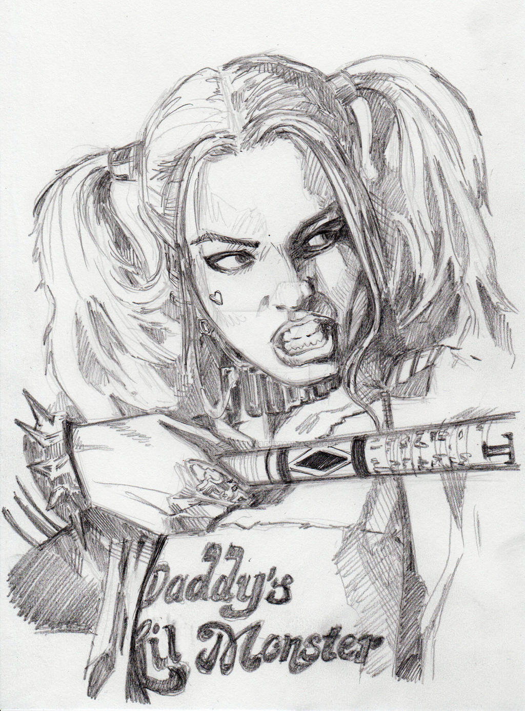 Harley Quinn Pencils (Suicide Squad) By JopetGarcia63 On DeviantArt