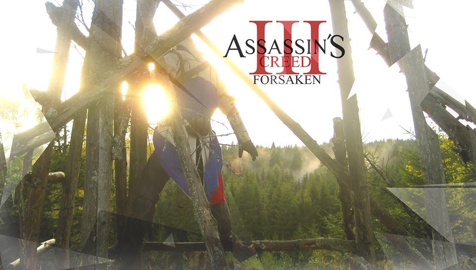 Assassins Creed III Connor Kenway Cosplay by KrishnaDammertArt