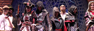 Faces of the Syndicate / Assassin's Creed Cosplay by KADArt-Cosplay
