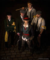 We call ourselves The Rooks /AC Syndicate Cosplay by KADArt-Cosplay