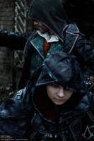 The Twins / AC Syndicate Jacob and Evie Cosplay by KADArt-Cosplay