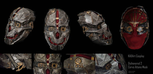 Corvo Attano Mask / Dishonored 2 Cosplay by KADArt-Cosplay