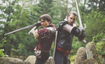 Hold this position/ Eskel/ Lambert Witcher Cosplay