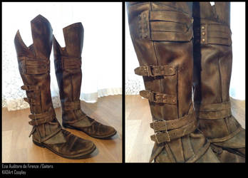 Ezio Auditore / Assassin's Creed 2 / Gaiters/Boots by KADArt-Cosplay