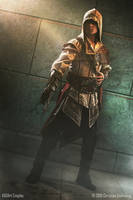Beneath the Vaticans Vault / Ezio Auditore Cosplay by KADArt-Cosplay