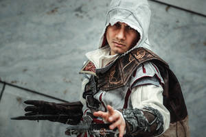 Ezio Auditore /Assassin's Creed II Cosplay by KADArt-Cosplay