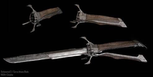 Dishonored 2 / Corvo Attanos Blade Prop by KADArt-Cosplay