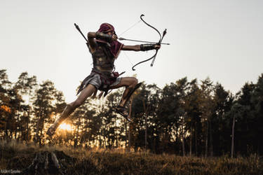 A Deadly Flight / AC Odyssey Alexios Cosplay by KADArt-Cosplay