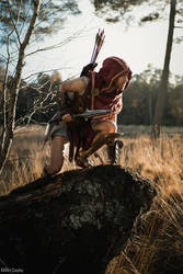 At The Hunters Lair / AC Odyssey Alexios Cosplay by KADArt-Cosplay