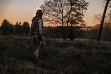 Far from the Warmth of Home / AC Odyssey Cosplay by KADArt-Cosplay