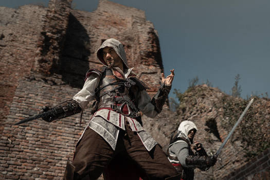To serve the light  Assassins Creed Cosplay