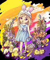 Soft Easter by hazu-i