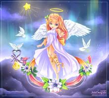 Angel of Christmas by hazu-i
