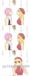Under the Mistletoe by hazu-i