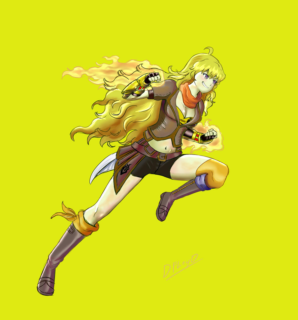 Yang Xiao Long Wallpaper: Yang Xiao Long By D-Floyd2 On DeviantArt