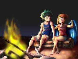 Bonfire moment by D-Floyd2